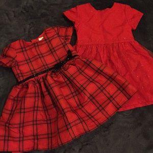 12 mo. Girls Dress Bundle